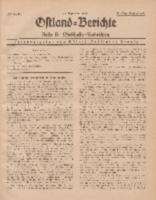 Ostland-Berichte. Reihe B. Wirtschafts-Nachrichten, 15. September 1935, Nr 16.