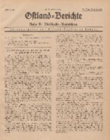 Ostland-Berichte. Reihe B. Wirtschafts-Nachrichten, 15. November 1935, Nr 21.