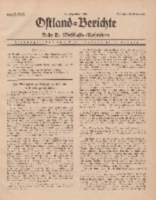 Ostland-Berichte. Reihe B. Wirtschafts-Nachrichten, 15. Dezember 1935, Nr 22-23.