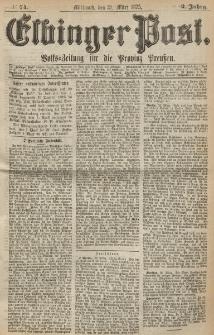 Elbinger Post, Nr. 74, Mittwoch 31 März 1875, 2 Jh