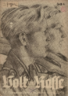 Volk und Rasse, 18. Jg. April 1943, Heft 4.