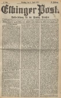 Elbinger Post, Nr. 79, Dienstag 6 April 1875, 2 Jh