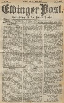 Elbinger Post, Nr. 88, Freitag 16 April 1875, 2 Jh