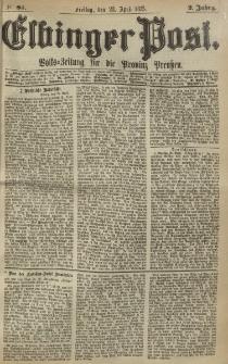 Elbinger Post, Nr. 93, Freitag 23 April 1875, 2 Jh