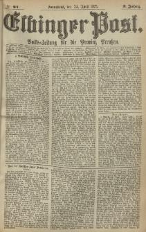 Elbinger Post, Nr. 94, Sonnabend 24 April 1875, 2 Jh