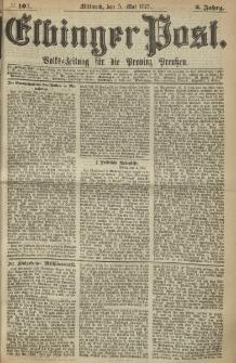 Elbinger Post, Nr. 103, Mittwoch 5 Mail 1875, 2 Jh