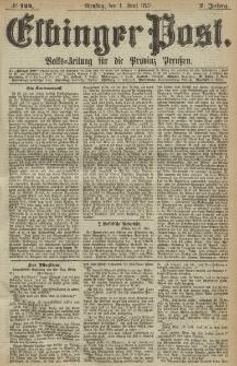 Elbinger Post, Nr. 124, Dienstag 1 Juni 1875, 2 Jh