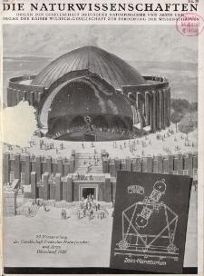 Die Naturwissenschaften. Wochenschrift..., 14. Jg. 1926, 17. September, Heft 38.