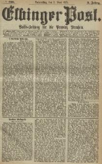 Elbinger Post, Nr. 126, Donnerstag 3 Juni 1875, 2 Jh