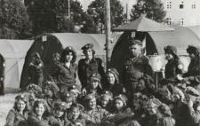 Obóz harcerski w Braniewie [fotografia]