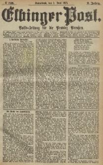 Elbinger Post, Nr. 128, Sonnabend 5 Juni 1875, 2 Jh