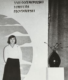 XXII Ogólnopolski Konkurs Recytatorski [fotografie]