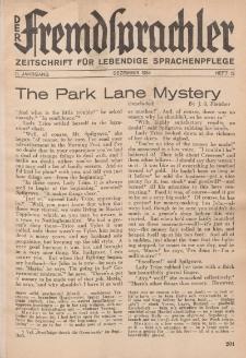 Der Fremdsprachler : Zeitschrift für lebendige Sprachen-Pflege Organ des Deutschen, 11. Jahrgang, Dezember 1934, Heft 12.