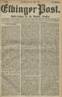 Elbinger Post, Nr. 136, Dienstag 15 Juni 1875, 2 Jh