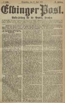 Elbinger Post, Nr. 138, Donnerstag 17 Juni 1875, 2 Jh