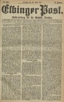 Elbinger Post, Nr. 139, Freitag 18 Juni 1875, 2 Jh