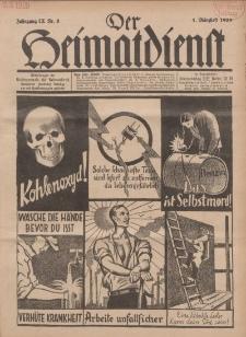 Der Heimatdienst : Mitteilungen der Reichszentrale für Heimatdienst, 9. Jahrgang, 1. Märzheft 1929, Nr 5.