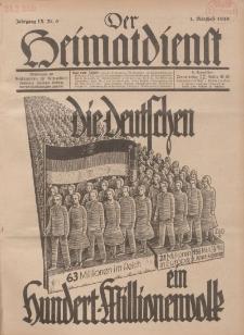 Der Heimatdienst : Mitteilungen der Reichszentrale für Heimatdienst, 9. Jahrgang, 2. Märzheft 1929, Nr 6.