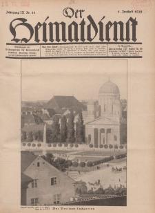 Der Heimatdienst : Mitteilungen der Reichszentrale für Heimatdienst, 9. Jahrgang, 1. Juniheft 1929, Nr 11.