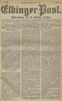 Elbinger Post, Nr. 141, Sonntag 20 Juni 1875, 2 Jh