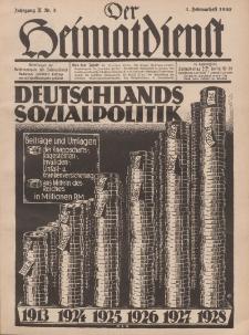 Der Heimatdienst : Mitteilungen der Reichszentrale für Heimatdienst, 10. Jahrgang, 1. Februarheft 1930, Nr 3.