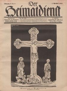 Der Heimatdienst : Mitteilungen der Reichszentrale für Heimatdienst, 10. Jahrgang, 2. Aprilheft 1930, Nr 8.