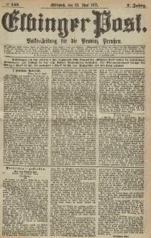 Elbinger Post, Nr. 143, Mittwoch 23 Juni 1875, 2 Jh