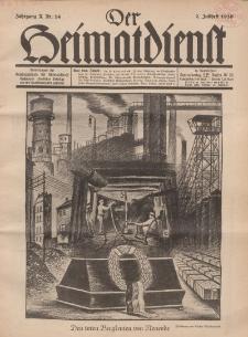Der Heimatdienst : Mitteilungen der Reichszentrale für Heimatdienst, 10. Jahrgang, 2. Juliheft 1930, Nr 14.