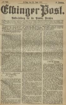 Elbinger Post, Nr. 145, Freitag 25 Juni 1875, 2 Jh