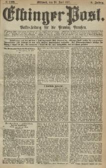 Elbinger Post, Nr. 149, Mittwoch 30 Juni 1875, 2 Jh