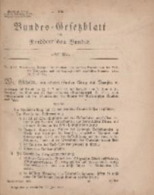 Bundes-Gesetzblatt des Norddeutschen Bundes, 1869, Nr 27.
