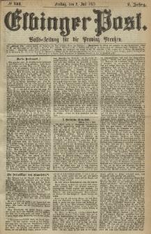Elbinger Post, Nr. 151, Freitag 2 Juli 1875, 2 Jh