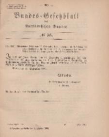 Bundes-Gesetzblatt des Norddeutschen Bundes, 1869, Nr 35.