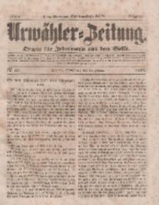 Urwähler-Zeitung : Organ für Jedermann aus dem Volke, Sonnabend, 15. Februar 1851, Nr. 39.