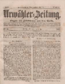 Urwähler-Zeitung : Organ für Jedermann aus dem Volke, Sonnabend, 5. April 1851, Nr. 80.