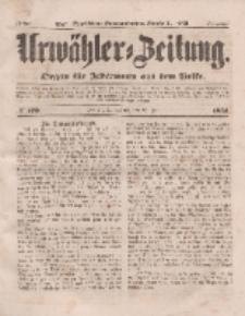 Urwähler-Zeitung : Organ für Jedermann aus dem Volke, Sonnabend, 26. Juli 1851, Nr. 170.