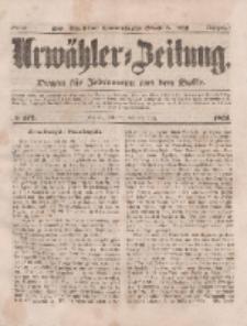 Urwähler-Zeitung : Organ für Jedermann aus dem Volke, Dienstag, 28. Juli 1851, Nr. 172.