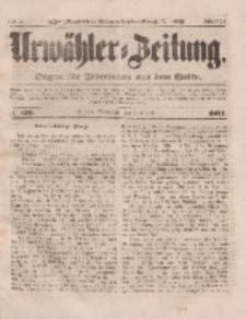 Urwähler-Zeitung : Organ für Jedermann aus dem Volke, Sonnabend, 2. August 1851, Nr. 176.