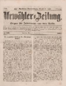 Urwähler-Zeitung : Organ für Jedermann aus dem Volke, Mittwoch, 6. August 1851, Nr. 179.