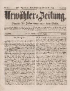 Urwähler-Zeitung : Organ für Jedermann aus dem Volke, Sonntag, 10. August 1851, Nr. 183.