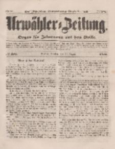 Urwähler-Zeitung : Organ für Jedermann aus dem Volke, Dienstag, 12. August 1851, Nr. 184.