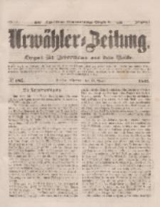 Urwähler-Zeitung : Organ für Jedermann aus dem Volke, Mittwoch, 13. August 1851, Nr. 185.