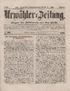 Urwähler-Zeitung : Organ für Jedermann aus dem Volke, Sonnabend, 16. August 1851, Nr. 188.