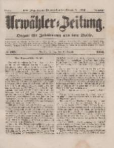 Urwähler-Zeitung : Organ für Jedermann aus dem Volke, Sonntag, 17. August 1851, Nr. 189.