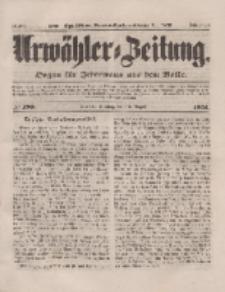 Urwähler-Zeitung : Organ für Jedermann aus dem Volke, Dienstag, 19. August 1851, Nr. 190.