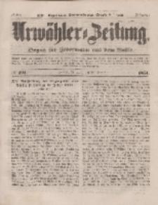 Urwähler-Zeitung : Organ für Jedermann aus dem Volke, Mittwoch, 20. August 1851, Nr. 191.