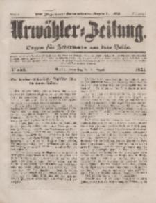 Urwähler-Zeitung : Organ für Jedermann aus dem Volke, Donnerstag, 21. August 1851, Nr. 192.