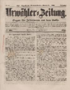 Urwähler-Zeitung : Organ für Jedermann aus dem Volke, Sonntag, 24. August 1851, Nr. 195.