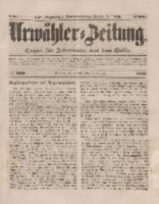Urwähler-Zeitung : Organ für Jedermann aus dem Volke, Sonnabend, 30. August 1851, Nr. 200.