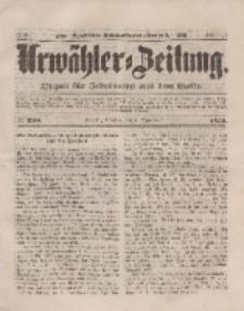 Urwähler-Zeitung : Organ für Jedermann aus dem Volke, Dienstag, 9. September 1851, Nr. 208.